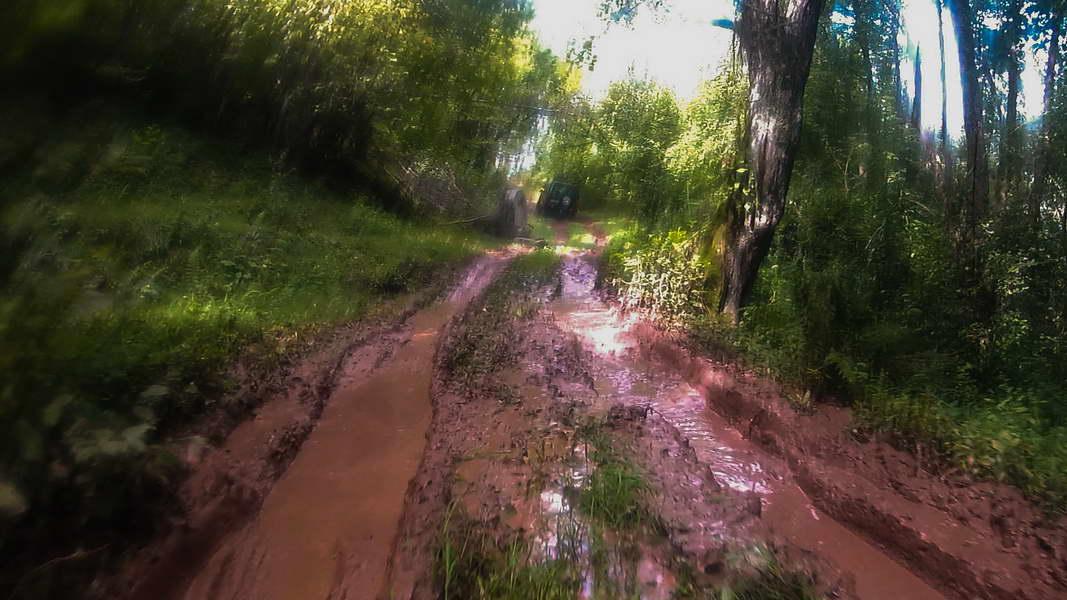 Bilo je i blata na obroncima Ljubišnje