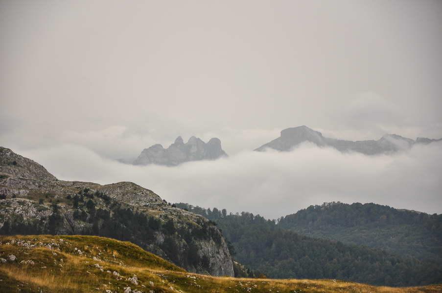 Moračka Kapa nad oblacima - nagoveštaj šta nas čeka
