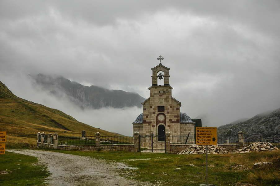 Crkvica u blizini Kapetanovog jezera