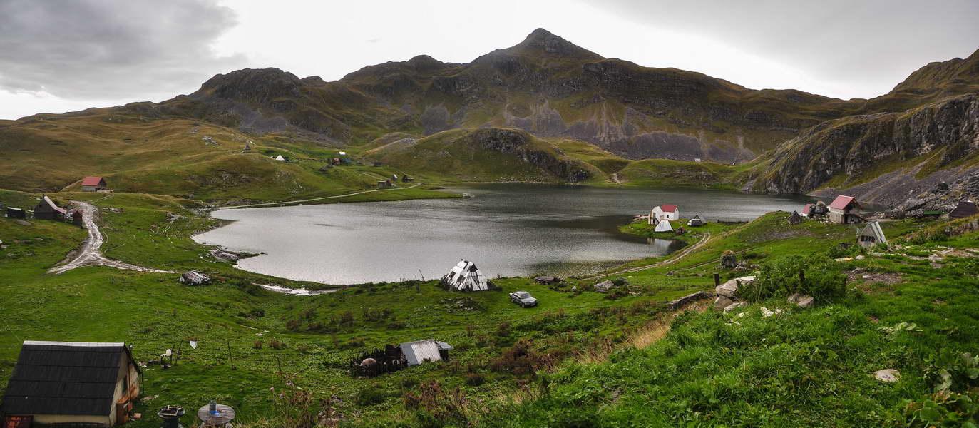 Panorama Kapetanovog jezera