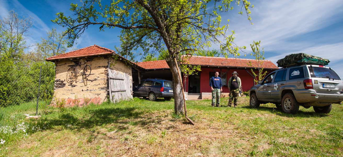 Bojan Pavlović has an ethno-house, with a campground, near the village Radenkovac