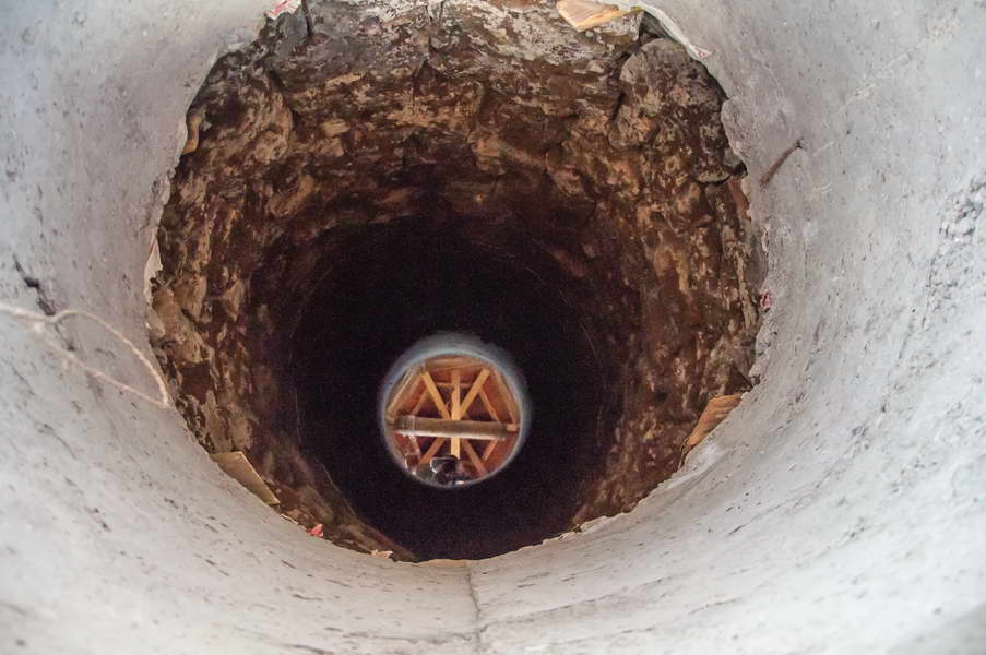 Reflection in the well