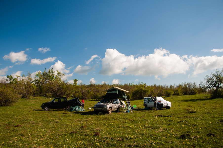 Camping on Kovej