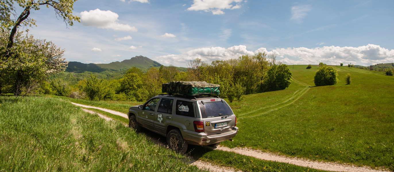 Through Homolje mountains, Veliki Krš in view