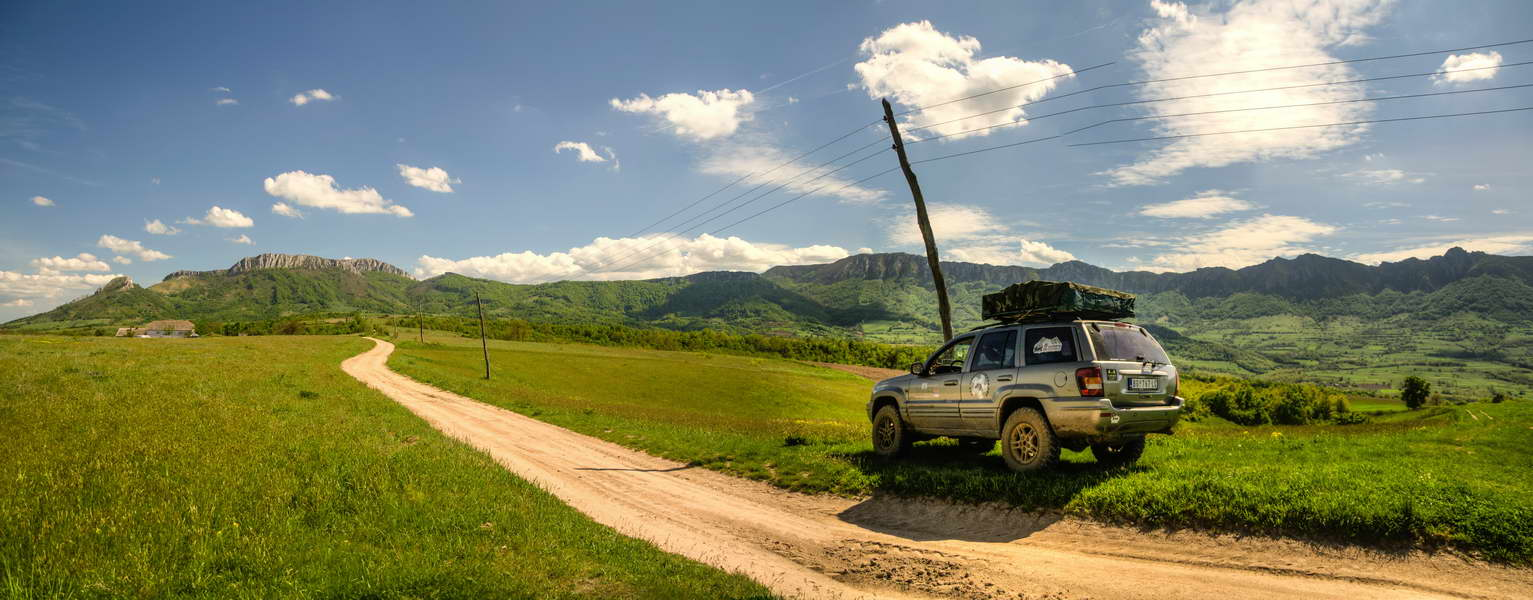 One of the best scenic dirt roads in eastern Serbia