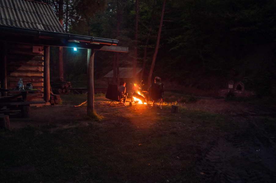 Campfire on Ravna reka