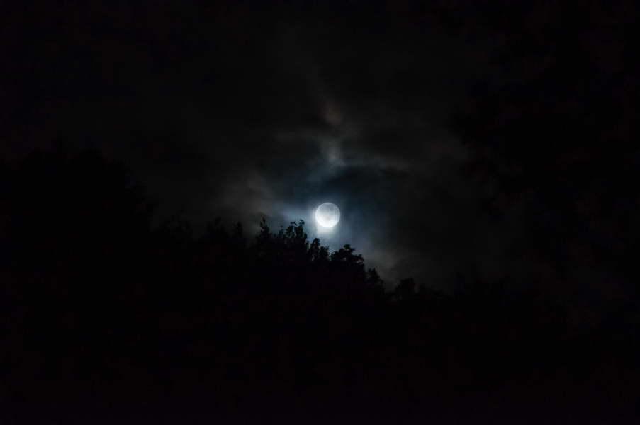 Moonlight over Ravna reka