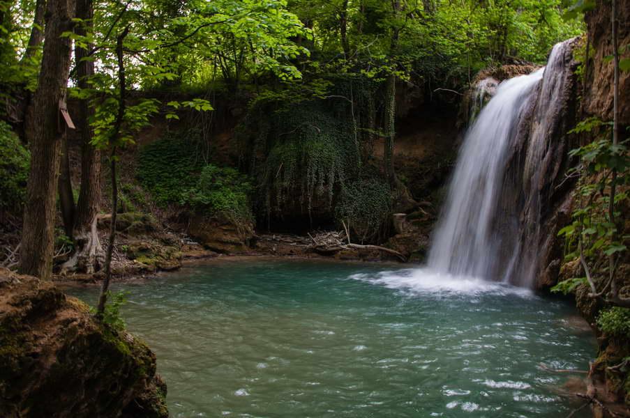 The gorgeous Blederija waterfall
