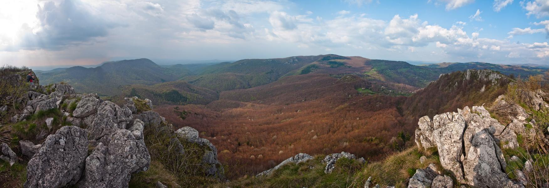 Величанствена панорама са Врања