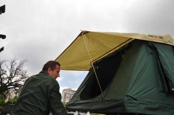 ... i možete da uđete u šator!