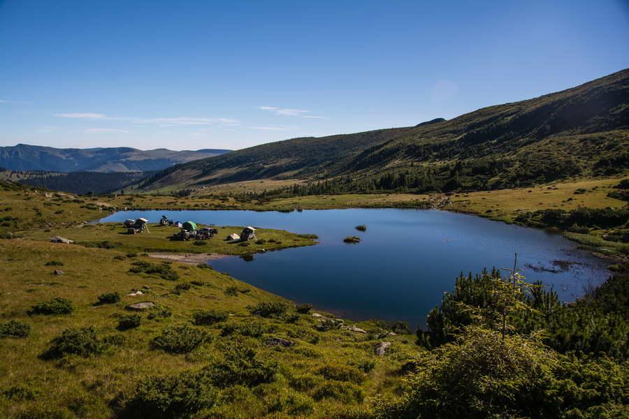 Jezero Stiol na Rodni