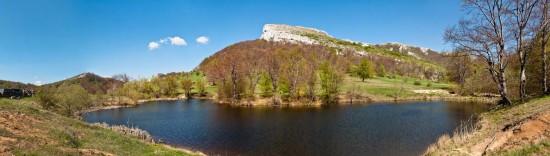 The lake on Borski Stol
