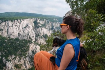 At the Kovej scenic point