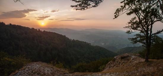 Sunset on Malinik