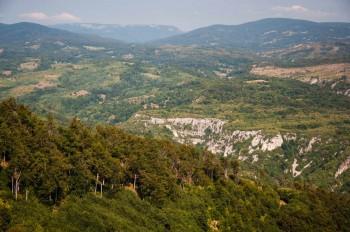 Lazar's canyon from Malinik
