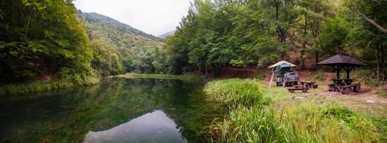 The upper Grza lake