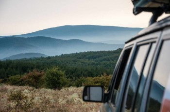 Jeeping In the wilderness of eastern Serbia