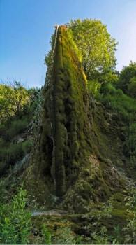 Prskalo waterfall in mid summer