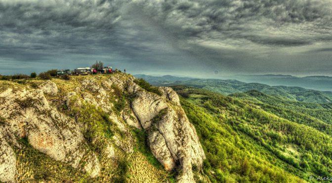 Land Rover club Slovenia discovering Serbian Carpathians