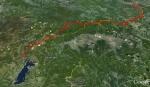 Trasa prvog dana (89 km)