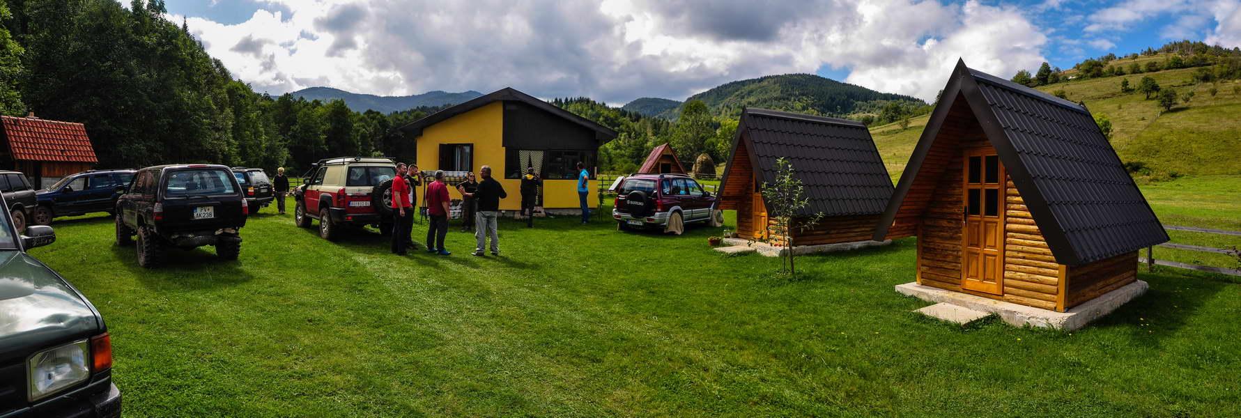 Domaćini su nam pokazali i svoje bungalove za goste