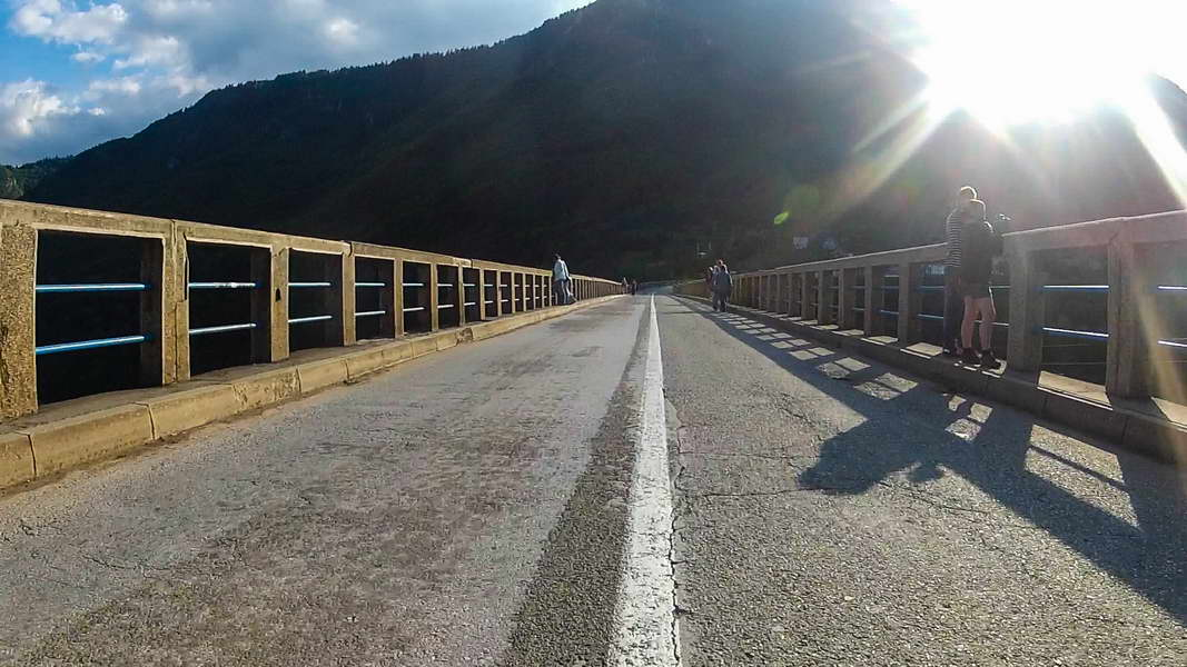 Prelazak mosta na Đurđevića Tari