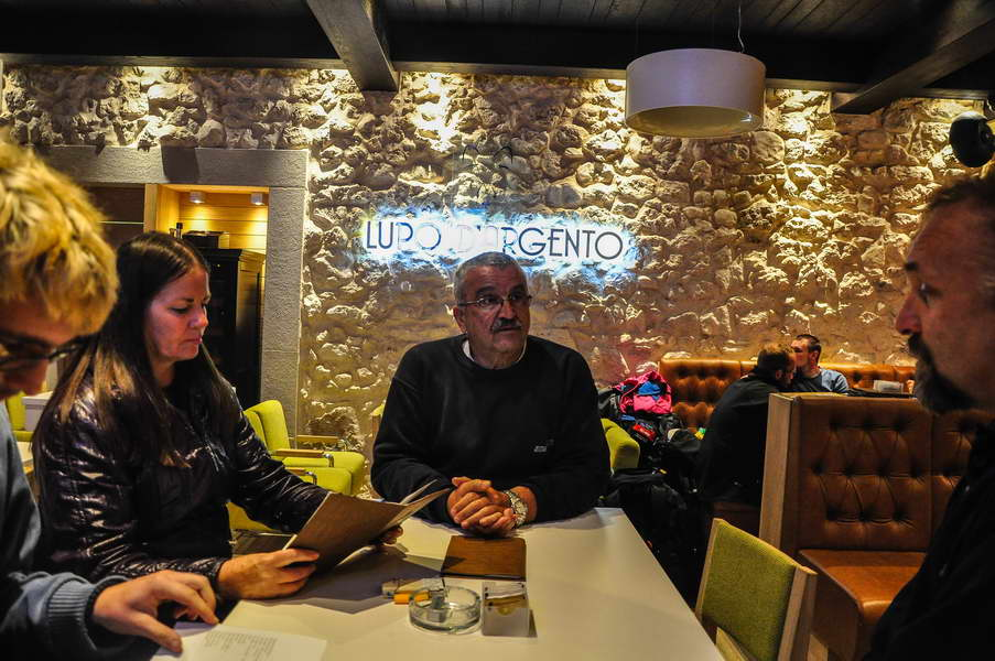 Večera u restoranu Lupo D'Argento na Žabljaku
