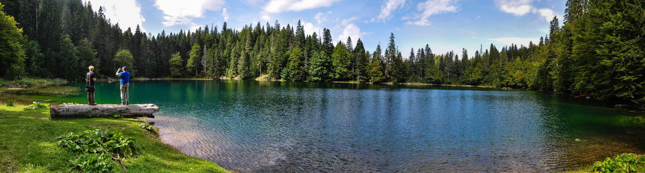 Zabojsko jezero u punoj svojoj lepoti