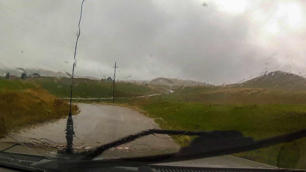 Kiša je četvrtog dana bivala sve jača...