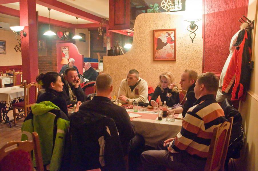 U restoranu Tri Šešira u Vranju
