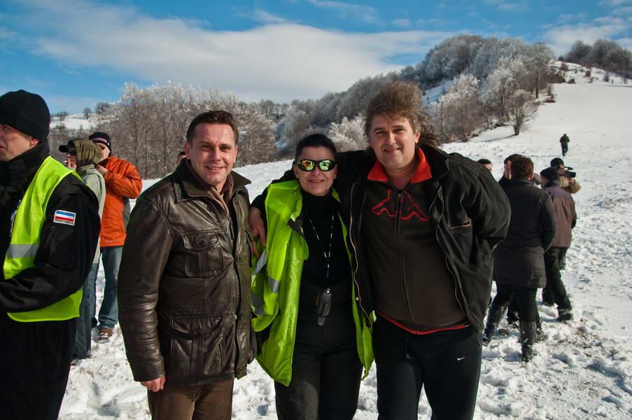 Susret na granici opština Trgovište i Bosilegrad