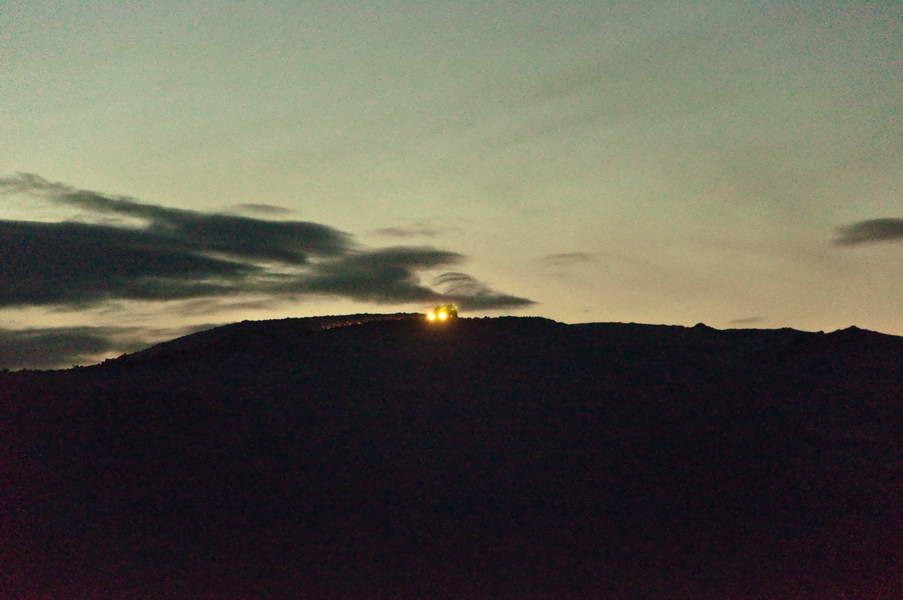 Svetla u planini
