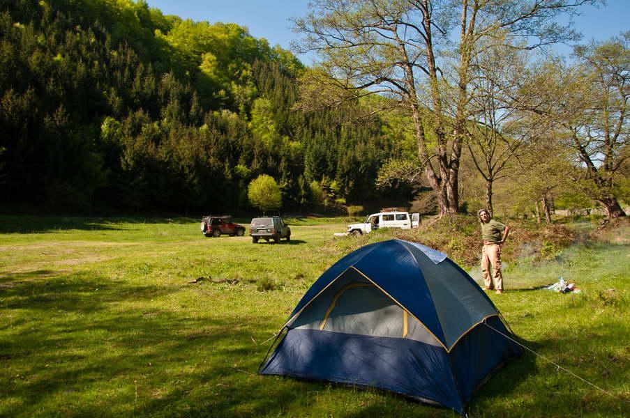 Jutro u kampu na Todorovoj reci
