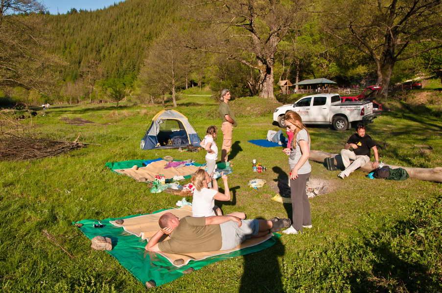 Nema boljeg načina za boravak u prirodi od kampovanja