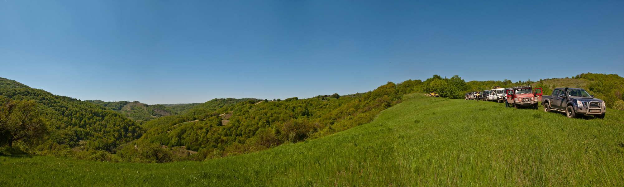 Beskrajne, isprepletane livade i šume - to je Homolje