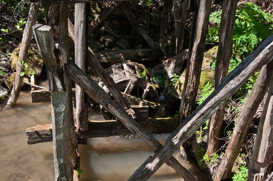 Vodenični točak na Jagnilu