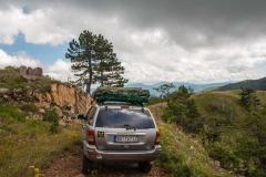 Put grebenom Stolova je živopisan