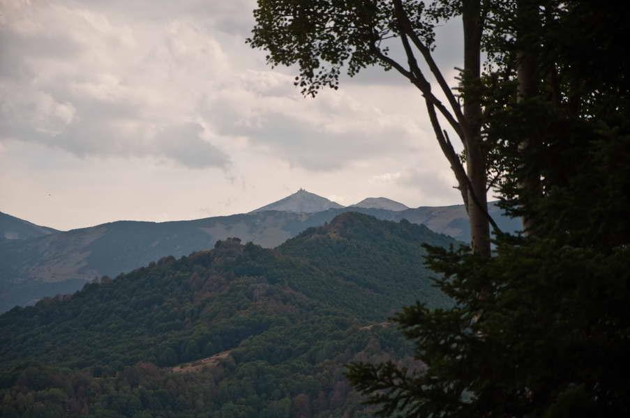 Solunska glava - naš sledeći cilj, od doma Karadžica