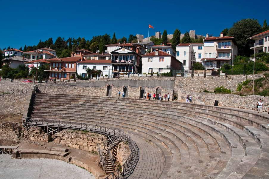 Amfiteatar u starom gradu Ohridu