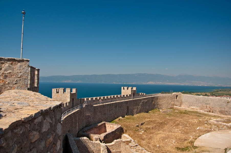 Pogled na jezero sa tvrđave