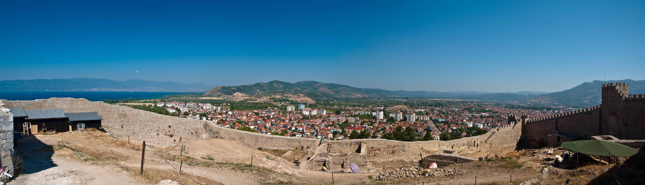 Panorama Ohrida
