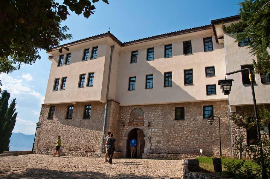 Konak Svetog Nauma - najekskluzivniji hotel Makedonije