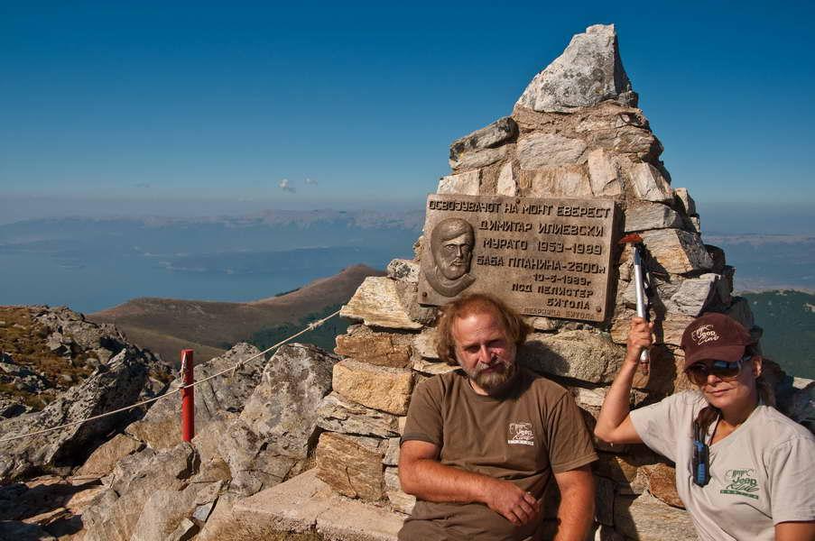 Pored spomenika Dimitru Ilievskom