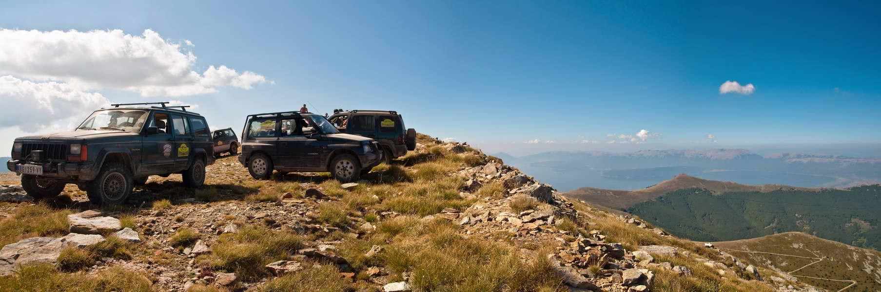 Pelister, 2601 m - je li vaš Jeep bio na većoj visini?