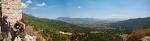 Preko pola Pelagonije sa zidina manastira