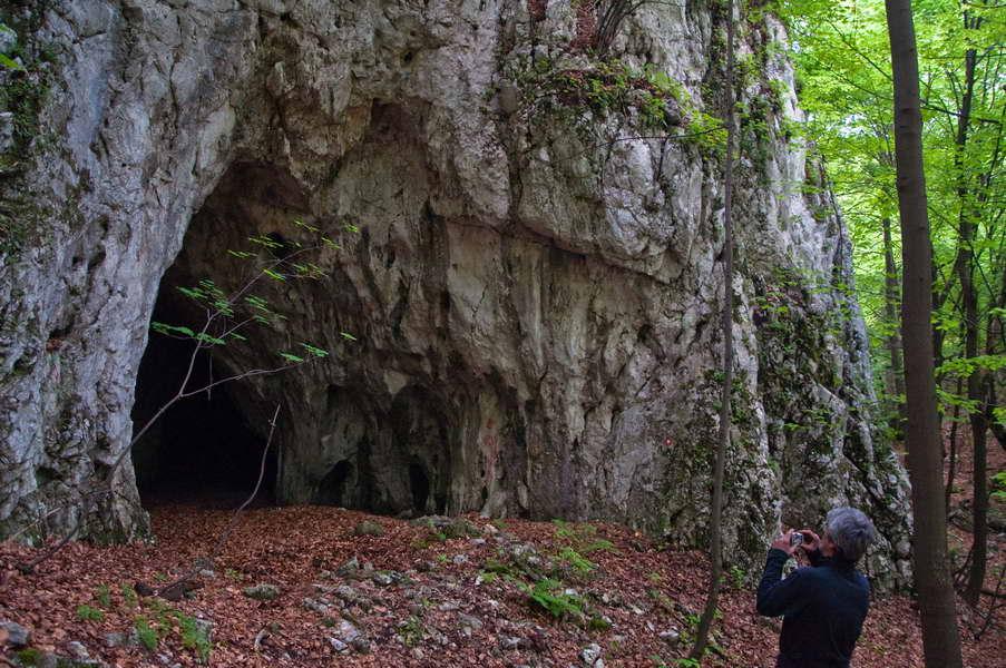 Pećina uzvodno od prerasti Samar