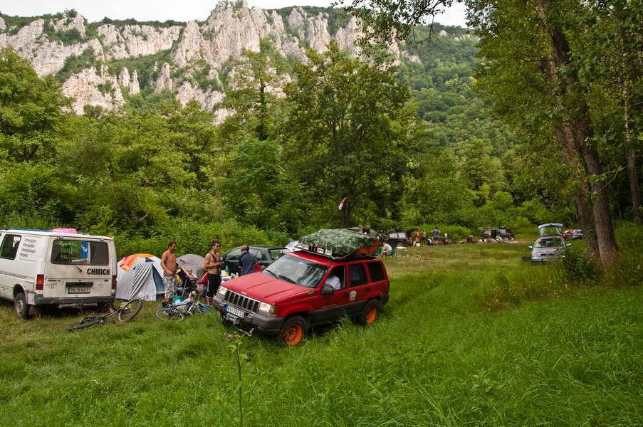 Napuštamo naš prvi kamp