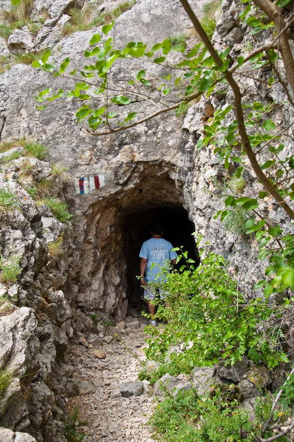 Ulaz u najduži tunel