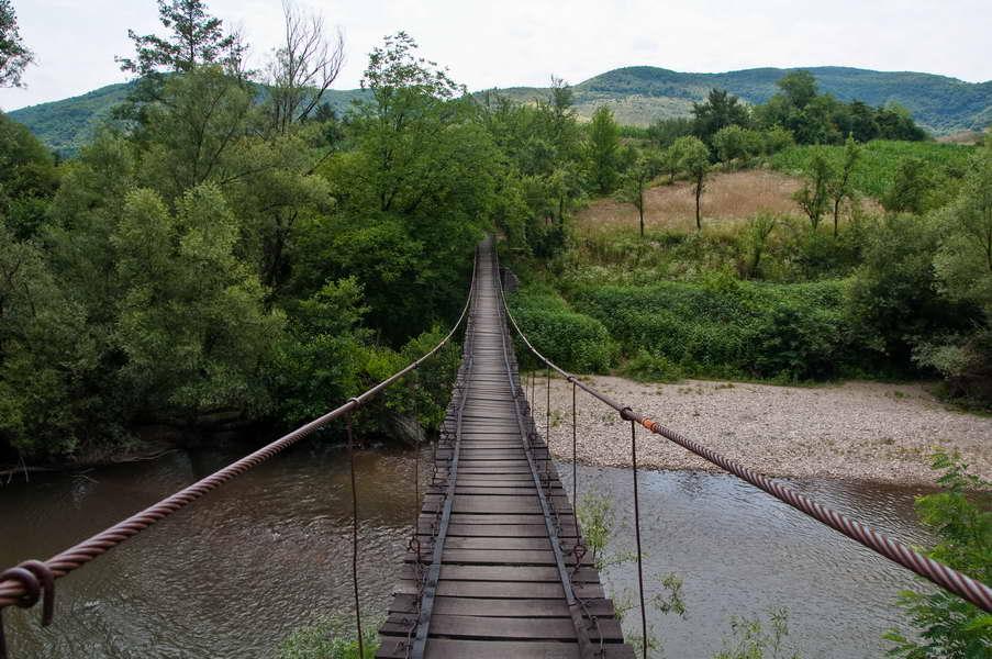 Viseći most ka Sasca Montani