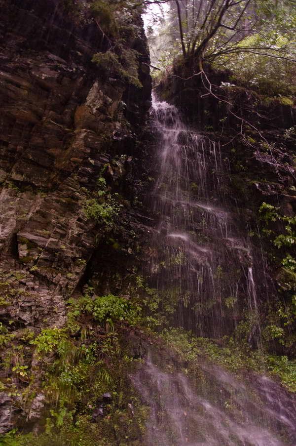Prvi od vodopada u kanjonu Žieca